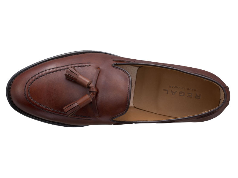 Regal Tassel Loafer 12VR BF: Brown
