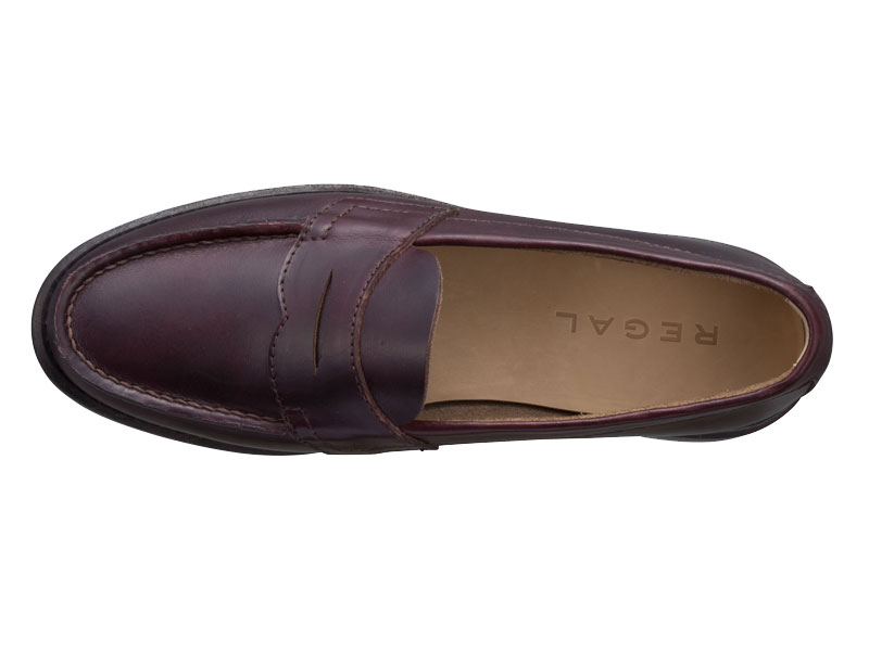 Regal Moccasin Loafer 51VR BB: Burgundy