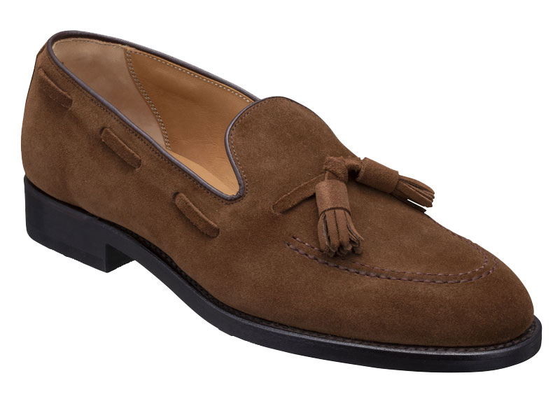 Regal Tassel Loafer 12VR BF: Brown Suede